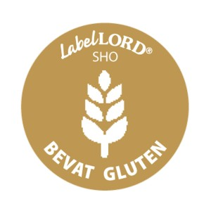 Label Allergeen -gluten-